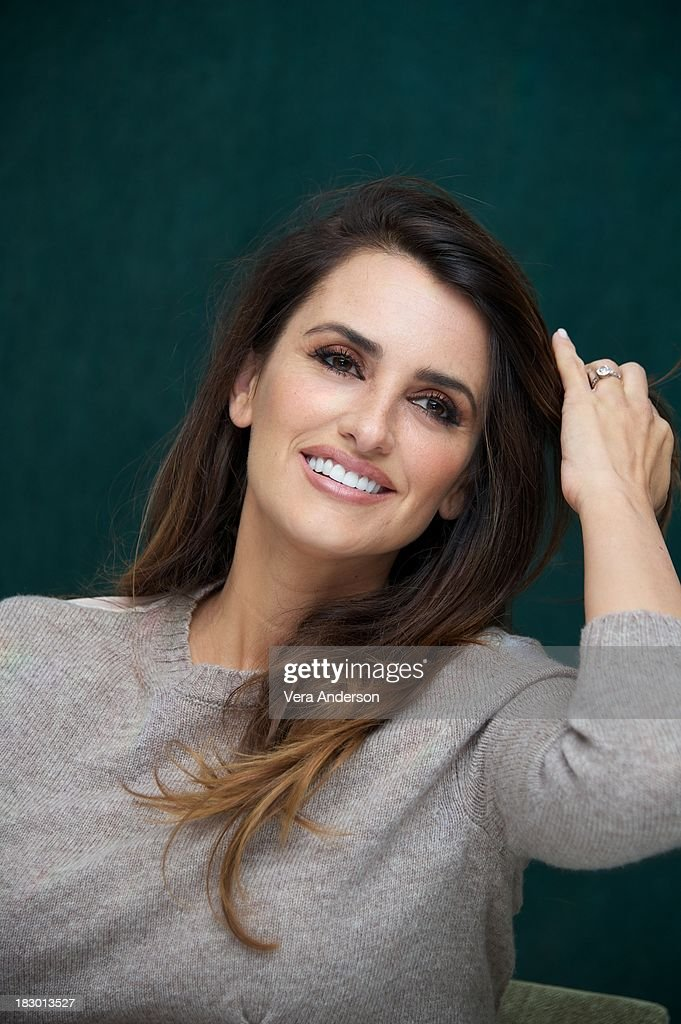 Penelope Cruz at 'The Counselor' Press Conference at The Mayfair Hotel on October 3, 2013 in London, England.