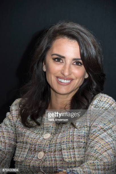 Penelope Cruz at the Murder on the Orient Express Press Conference at the Claridges Hotel on November 3 2017 in London England