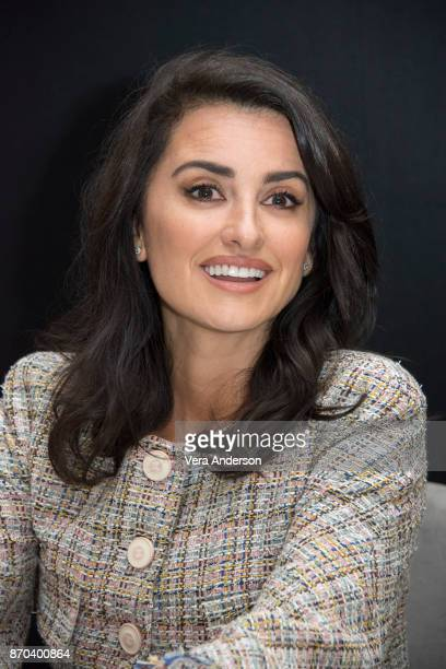 Penelope Cruz at the 'Murder on the Orient Express' Press Conference at the Claridges Hotel on November 3 2017 in London England