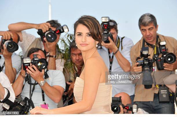 Penelope Cruz at the photo call of Los Abrazos Rotos during the 62nd Cannes Film Festival