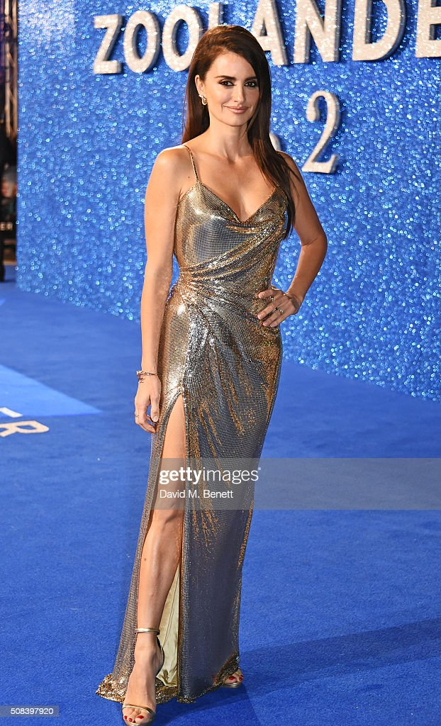 Penelope Cruz attends a Fashionable Screening of the Paramount Pictures film 'Zoolander No. 2' at Empire Leicester Square on February 4, 2016 in London, England.