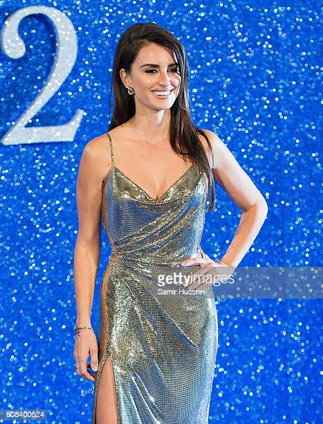 """Penelope Cruz attends a London Fan Screening of the Paramount Pictures film """"Zoolander No. 2"""" at Empire Leicester Square on February 4, 2016 in..."""