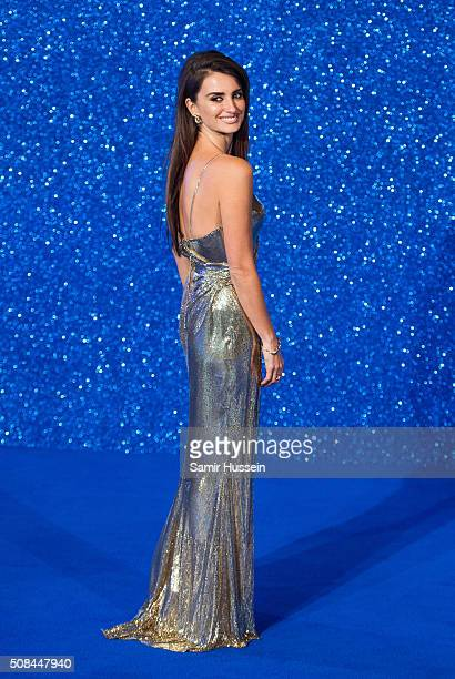 Penelope Cruz attends a London Fan Screening of the Paramount Pictures film Zoolander No 2 at Empire Leicester Square on February 4 2016 in London...