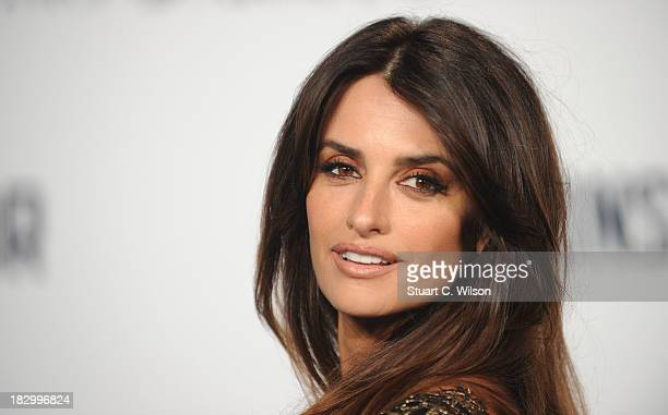 Penelope Cruz attends a special screening of The Counselor at Odeon West End on October 3 2013 in London England