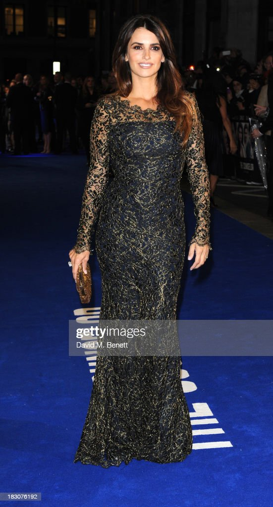 Penelope Cruz attends a special screening of 'The Counselor' at the Odeon West End on October 3, 2013 in London, England.