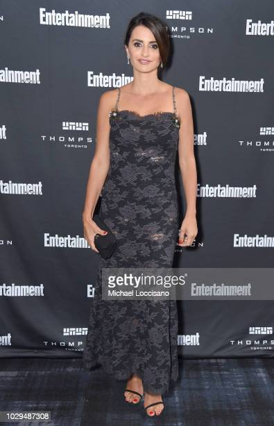 Penelope Cruz attends Entertainment Weekly's Must List Party at the Toronto International Film Festival 2018 at the Thompson Hotel on September 8...