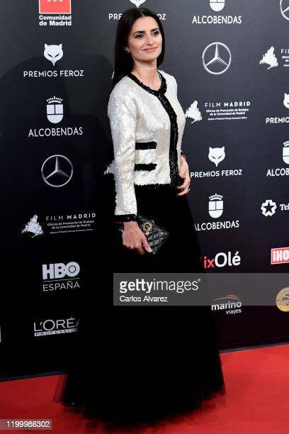 Penelope Cruz attends Feroz awards 2020 red carpet at Teatro Auditorio Ciudad de Alcobendas on January 16 2020 in Madrid Spain