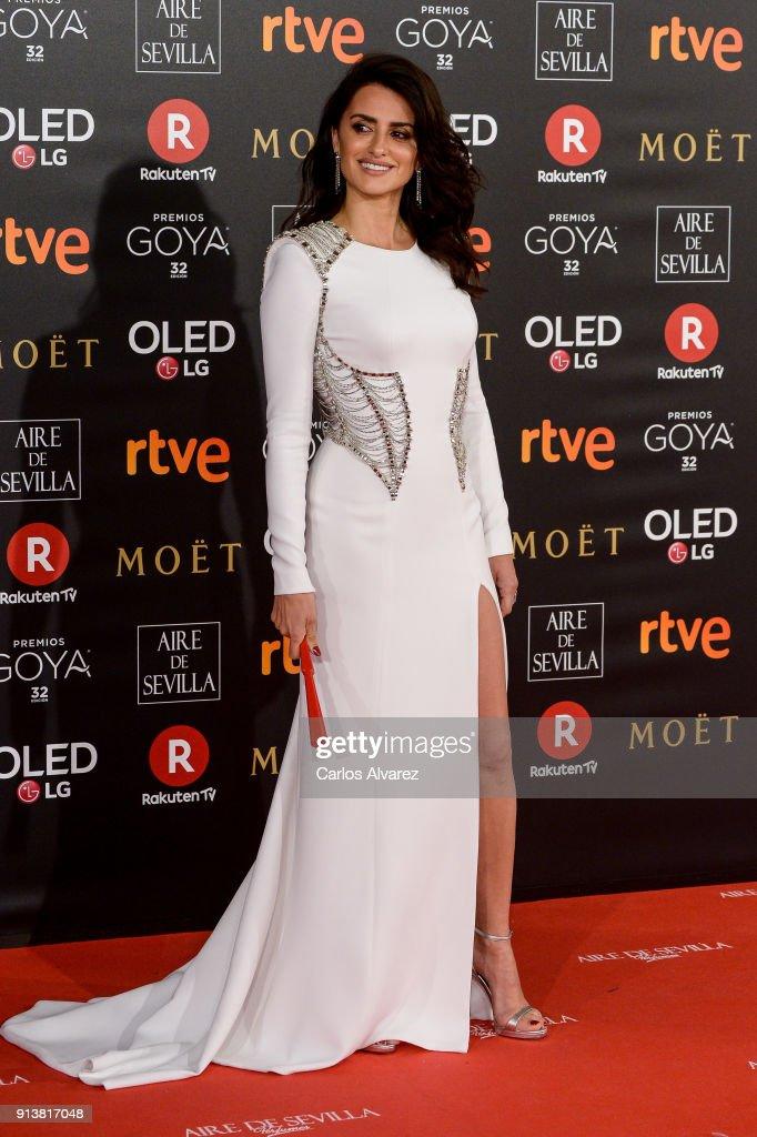 Goya Cinema Awards 2018 - Red Carpet : News Photo