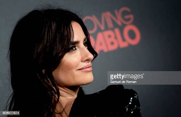 Penelope Cruz attends 'Loving Pablo' Madrid Premiere on March 7 2018 in Madrid Spain