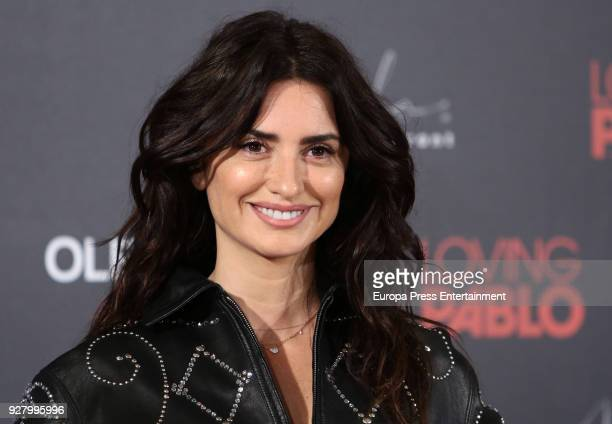 Penelope Cruz attends 'Loving Pablo' photocall on March 6 2018 in Madrid Spain
