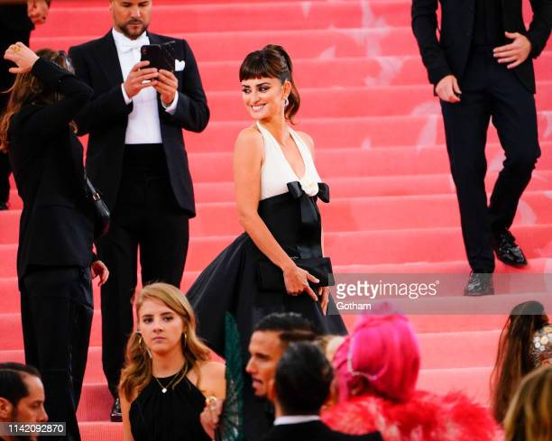 Penelope Cruz attends the 2019 Met Gala celebrating 'Camp: Notes on Fashion' at the Metropolitan Museum of Art on May 06, 2019 in New York City.