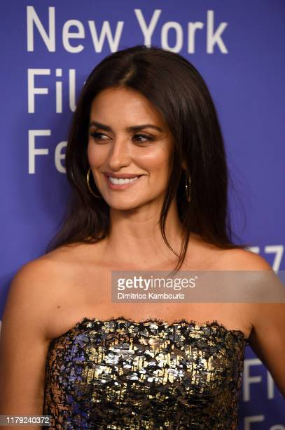 Penelope Cruz attends the 57th New York Film Festival Wasp Network arrivals at Alice Tully Hall Lincoln Center on October 05 2019 in New York City