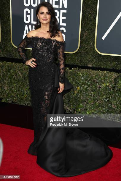 Penelope Cruz attends The 75th Annual Golden Globe Awards at The Beverly Hilton Hotel on January 7 2018 in Beverly Hills California