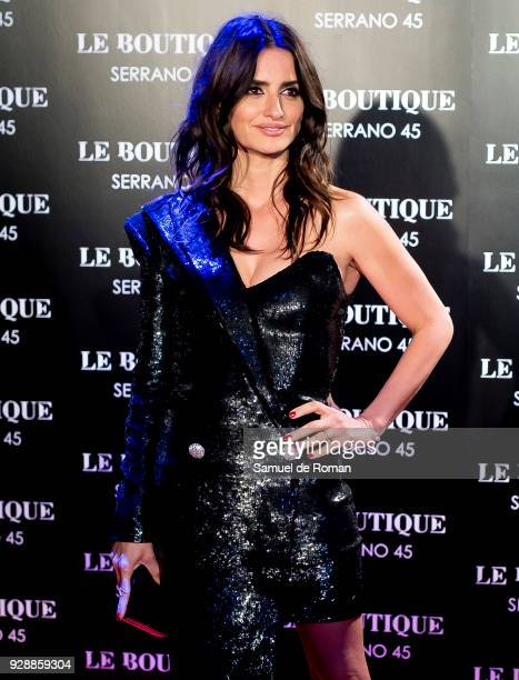 Penelope Cruz attends the after party of 'Loving Pablo' premiere at Le Boutique Club on March 7 2018 in Madrid Spain