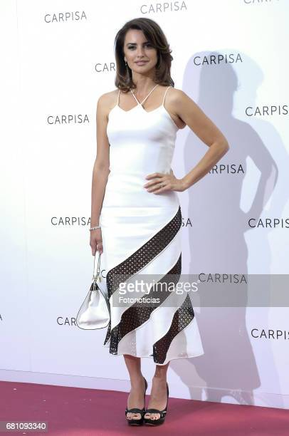 Penelope Cruz attends the Carpisa stores presentation at the Italian Embassy on May 9 2017 in Madrid Spain