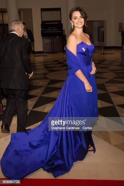 Penelope Cruz attends the Cesar Film Awards Ceremony at Salle Pleyel on March 2 2018 in Paris France