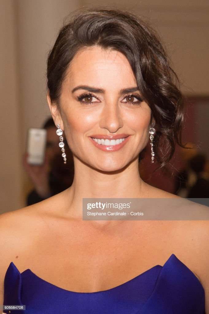Penelope Cruz attends the Cesar Film Awards Ceremony at Salle Pleyel on March 2, 2018 in Paris, France.