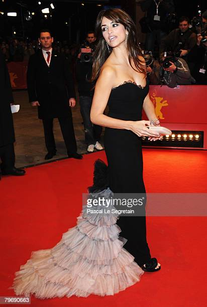 Penelope Cruz attends the 'Elegy' Premiere as part of the 58th Berlinale Film Festival at the Berlinale Palast on February 10 2008 in Berlin Germany
