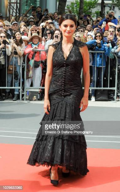 Penelope Cruz attends the 'Everybody Knows' premiere during 2018 Toronto International Film Festival at Roy Thomson Hall on September 8 2018 in...