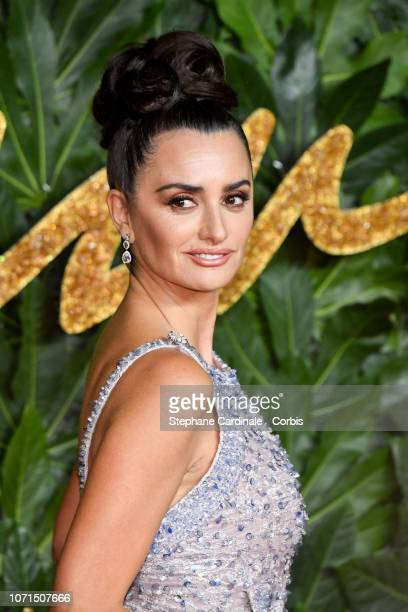 Penelope Cruz attends the Fashion Awards 2018 in partnership with Swarovski at Royal Albert Hall on December 10 2018 in London England