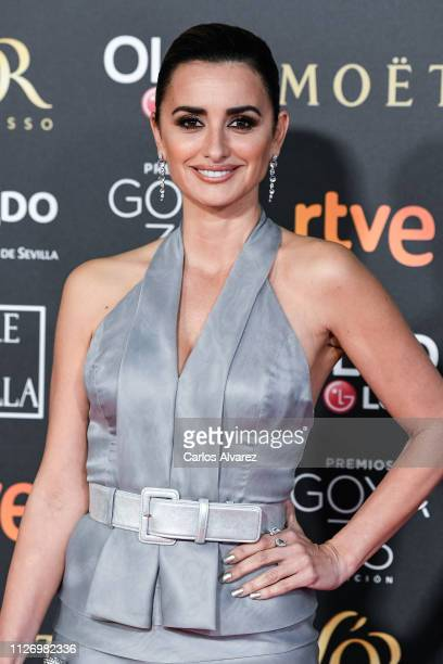 Penelope Cruz attends the Goya Cinema Awards 2019 during the 33rd edition of the Goya Cinema Awards at Palacio de Congresos y Exposiciones FIBES on...