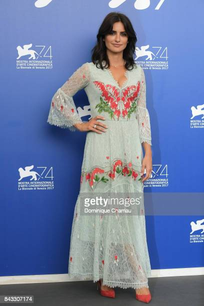 Penelope Cruz attends the 'Loving Pablo' photocall during the 74th Venice Film Festival on September 6 2017 in Venice Italy