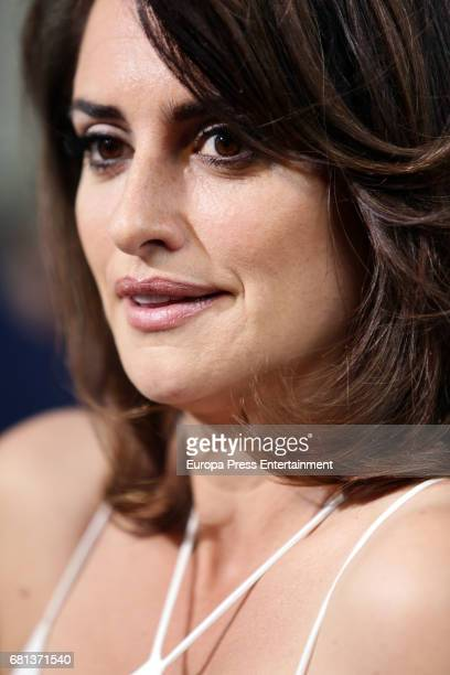 Penelope Cruz attends the opening of new Carpisa stores on May 9 2017 in Madrid Spain