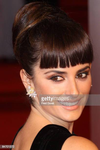 Penelope Cruz attends The Orange British Academy Film Awards at the Royal Opera House on February 8 2009 in London England
