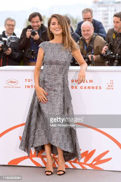 "Penelope Cruz attends the ""Pain And Glory "" photocall during the 72nd annual Cannes Film Festival on May 18, 2019 in Cannes, France."