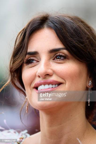 Penelope Cruz attends the Pain And Glory UK Premiere and opening gala of Film4 Summer Screen at Somerset House on August 08 2019 in London England