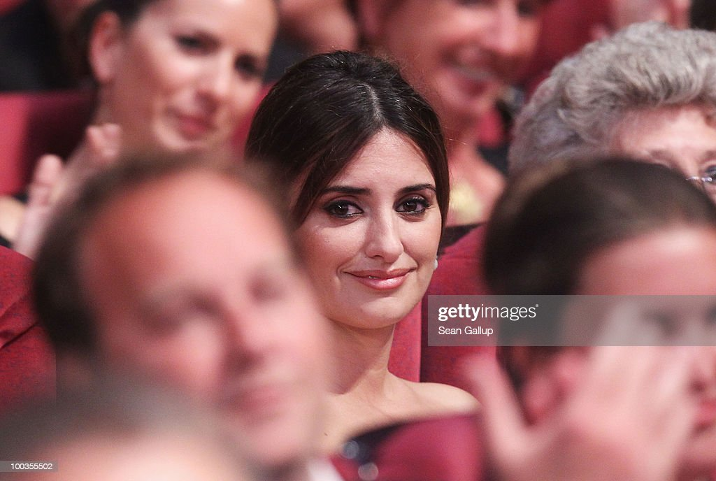 Penelope Cruz attends the Palme d'Or Award Ceremony held at the Palais des Festivals during the 63rd Annual Cannes Film Festival on May 23, 2010 in Cannes, France.