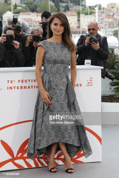 "Penelope Cruz attends the photocall for ""Pain And Glory "" during the 72nd annual Cannes Film Festival on May 18, 2019 in Cannes, France."