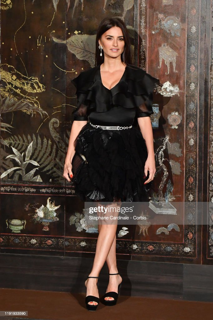 Chanel Metiers D'Art 2019-2020 : Photocall At Le Grand Palais : News Photo