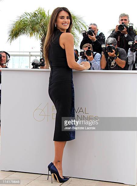 Penelope Cruz attends the 'Pirates of the Caribbean On Stranger Tides' Photocall during the 64th Annual Cannes Film Festival at Palais des Festivals...