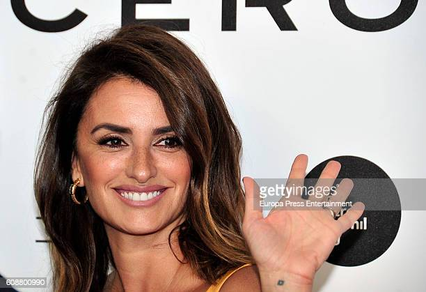 Penelope Cruz attends the premiere of 'Soy Uno Entre Cien Mil' directed by her at Callao cinema on September 19 2016 in Madrid Spain