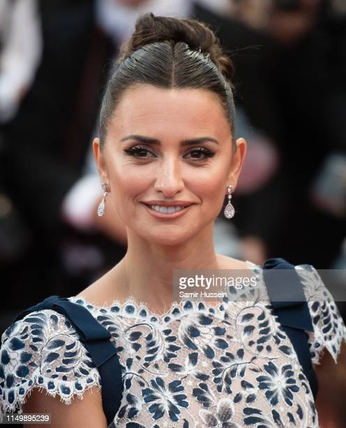 """Penelope Cruz attends the screening of """"Pain And Glory """" during the 72nd annual Cannes Film Festival on May 17, 2019 in Cannes, France."""