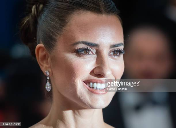 "Penelope Cruz attends the screening of ""Pain And Glory "" during the 72nd annual Cannes Film Festival on May 17, 2019 in Cannes, France."