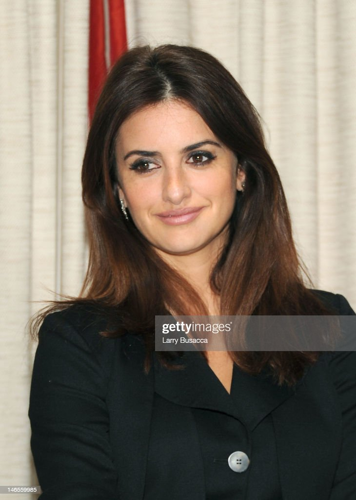 Penelope Cruz attends the 'To Rome With Love' Press Conference on June 19, 2012 in New York City.
