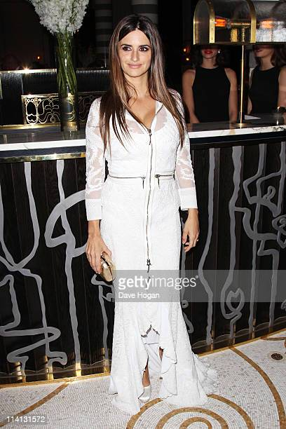 Penelope Cruz attends the UK premiere afterparty of 'Pirates Of The Caribbean On Stranger Tides' at Massimo Restaurant and Oyster Bar on May 12 2011...