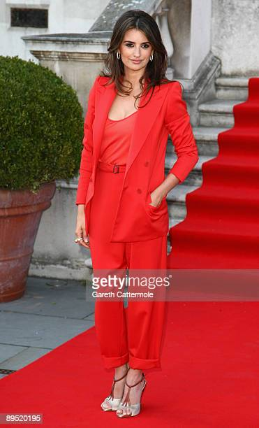 Penelope Cruz attends the UK premiere of 'Broken Embraces' held at Somerset House on July 30 2009 in London England