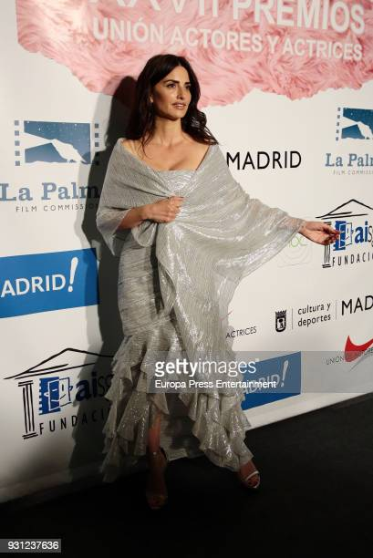 Penelope Cruz attends the Union de Actores Awards at the Circo Price on March 12 2018 in Madrid Spain