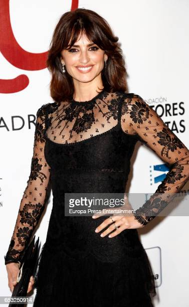 Penelope Cruz attends the XXVI Union de Actores awards on March 13 2017 in Madrid Spain