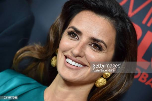 Penelope Cruz attends Universal Pictures Home Entertainment Content Group's 'Loving Pablo' special screening at The London West Hollywood on...