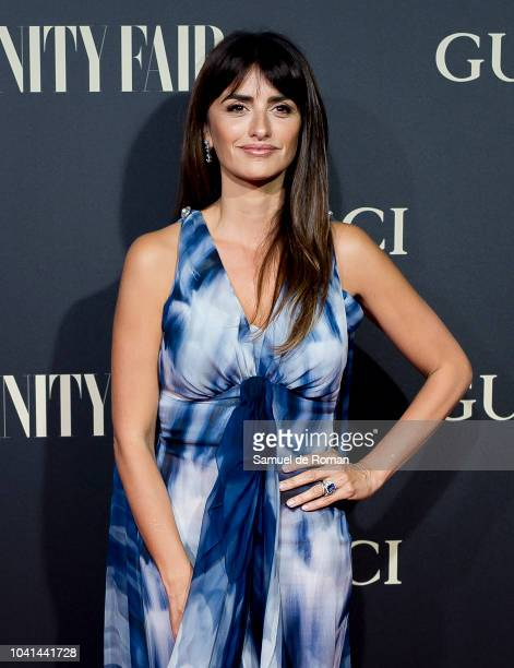 Penelope Cruz attends 'Vanity Fair's Personality of the Year' Awards at Royal Theatre on September 26 2018 in Madrid Spain