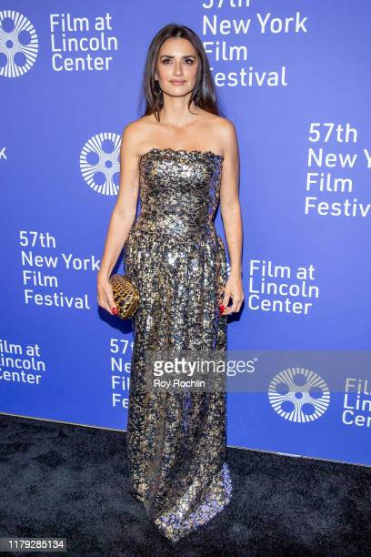 Penelope Cruz attends Wasp Network arrivals during the 57th New York Film Festival at Alice Tully Hall Lincoln Center on October 05 2019 in New York...