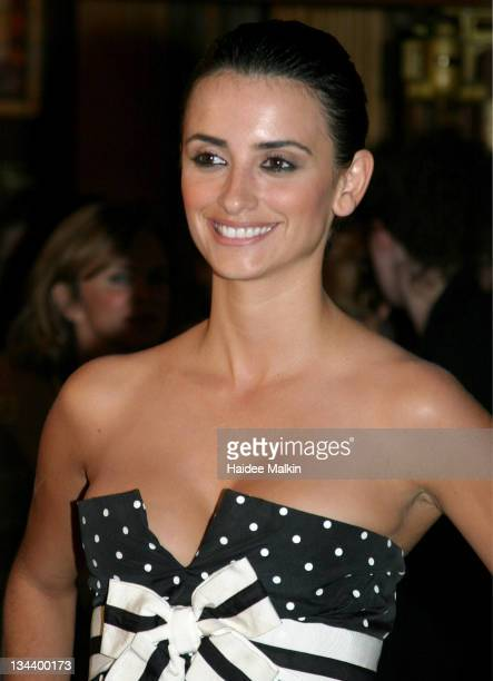 Penelope Cruz during 2004 Toronto International Film Festival 'Head in the Clouds' Premiere Afterparty at Elgin Theatre in Toronto Ontario Canada