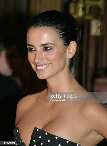 Penelope Cruz during 2004 Toronto International Film Festival Head in the Clouds Premiere Afterparty at Elgin Theatre in Toronto Ontario Canada