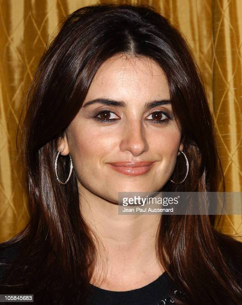 Penelope Cruz during 2006 ACLU/SC Awards at Regent Beverly Wilshire in Beverly Hills California United States