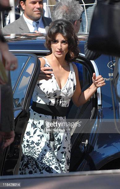 Penelope Cruz during 2006 Cannes Film Festival - Seen Around Cannes - Day 4 in Cannes, France.