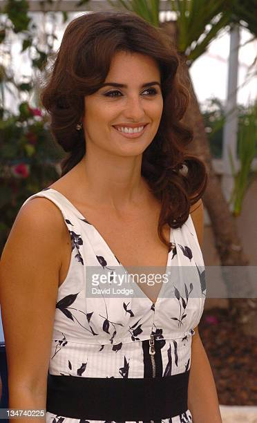 Penelope Cruz during 2006 Cannes Film Festival 'Volver' Photo Call at Palais du Festival in Cannes France